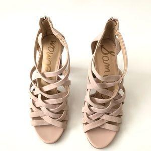 Sam Edelman Yori Stacked Heel Sandal Size 10
